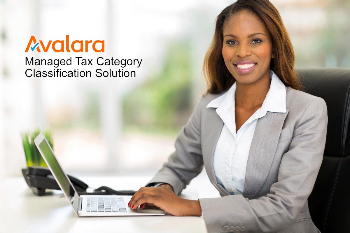 Avalara Managed Tax Category Classification Solution