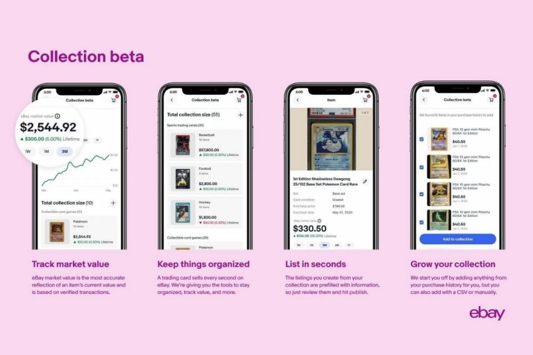 eBay Launches New Trading Cards Experience Bringing Price Guide & Collection Features to Enthusiasts