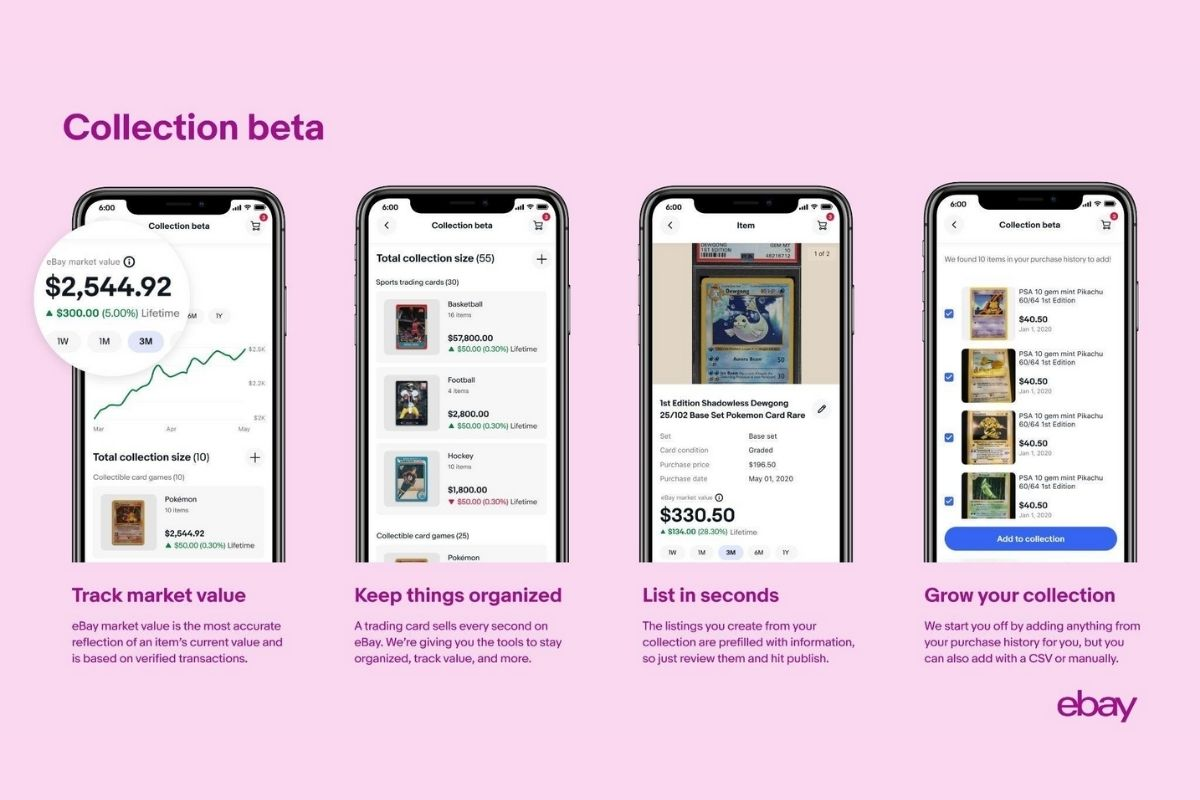 eBay Trading Cards Collection Beta