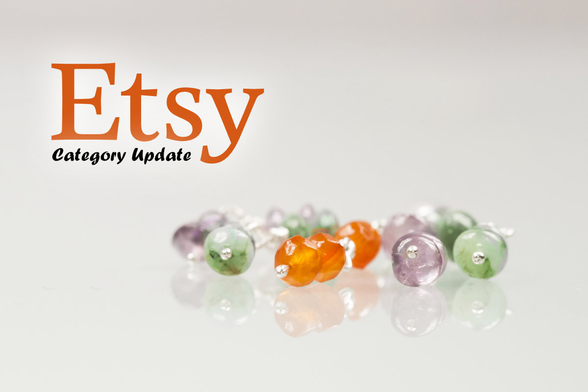 Etsy Category and Attributes Update