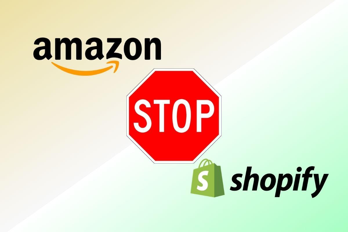 Shopify Amazon Integration stops