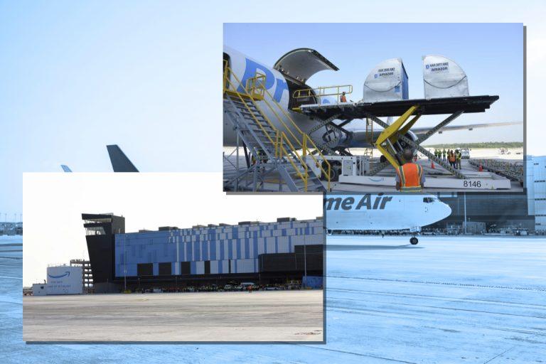 Amazon Air Opens New Hub Facility at Cincinnati Northern Kentucky International Airport (CVG)