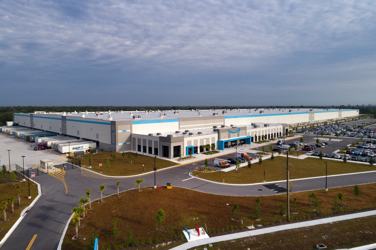 Amazon Fulfillment Center Drawing Port St. Lucie Florida