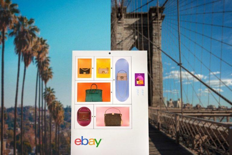 eBay Drops Luxury Handbags Machines Into 2 Iconic Neighborhoods