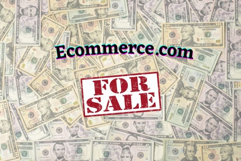 Lucrative Domain Name Ecommerce.com Listed For Sale at $35 Million