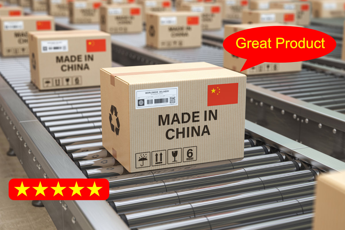 Fake Reviews on Chinese products from bad sellers