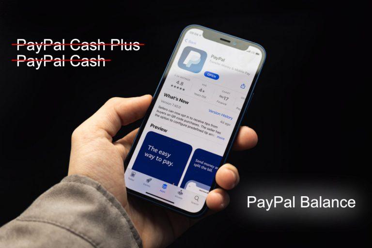 PayPal Renames PayPal Cash Accounts to PayPal Balance