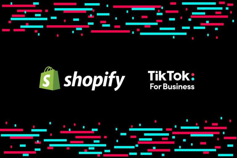 Shopify and TikTok Partner on Social Commerce Solution for Online Merchants
