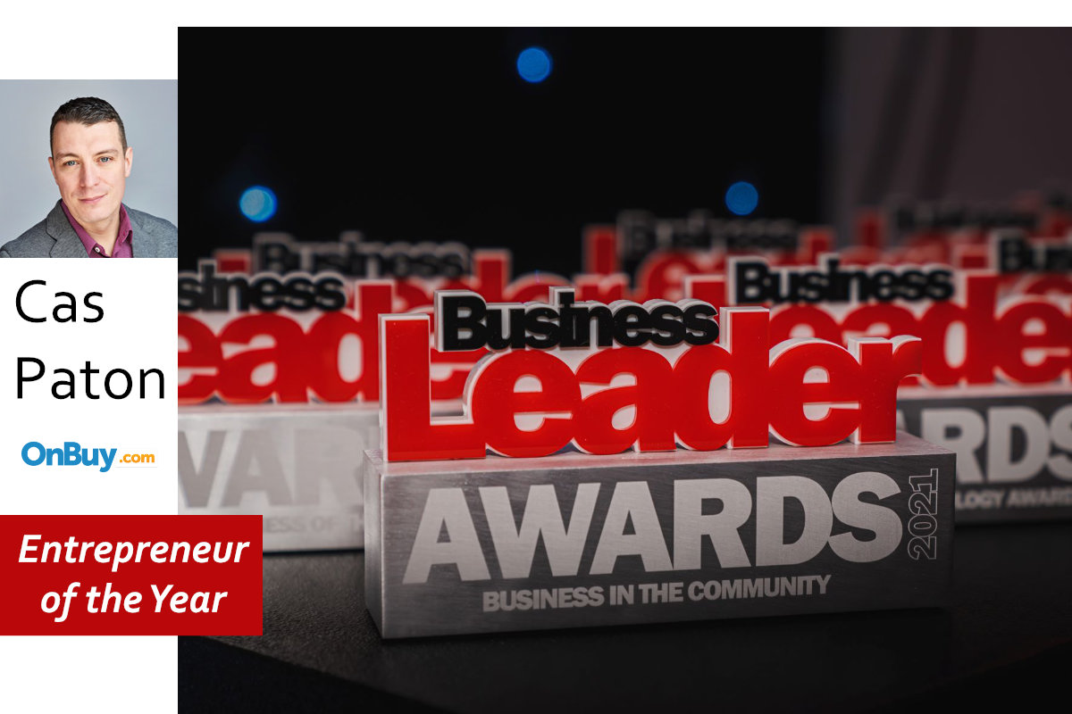 OnBuy Founder Cas Paton Names Entrepreneur of the Year