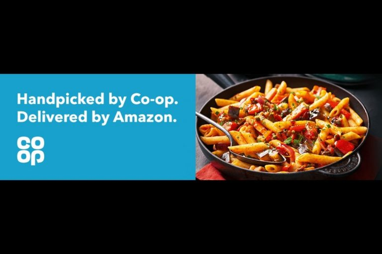 Co-op Now On Amazon UK – Same-Day Grocery Delivery included with Prime