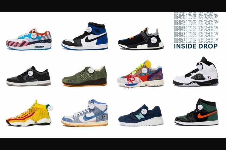"""eBay """"Inside Drop"""" Releasing a Collection of the Greatest Sneakers Never Sold"""