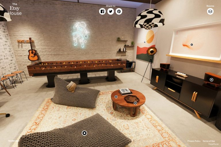 Etsy Debuts 'The Etsy House' – An Immersive Virtual Shopping Experience Demonstration