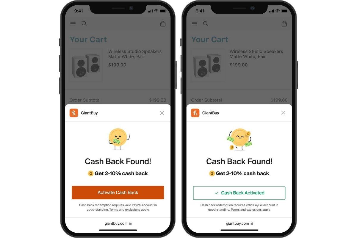 Honey PayPal Cashback