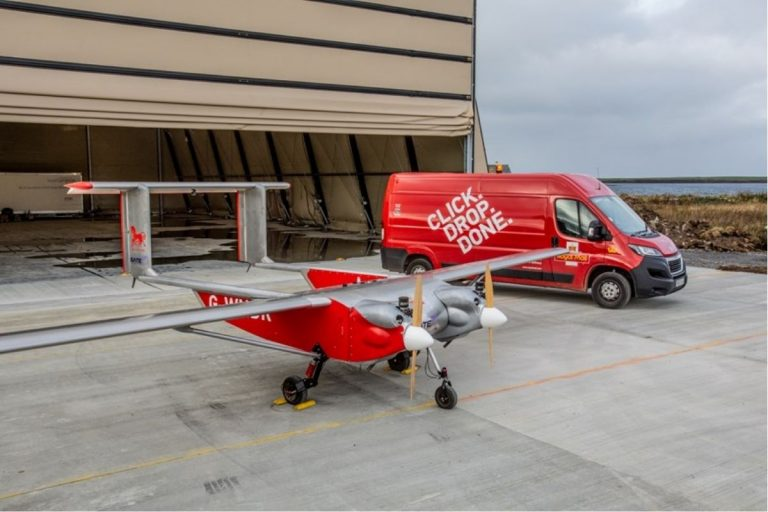 Royal Mail Trials 100% Remote Deliveries Using Low Emission Drone For Islands