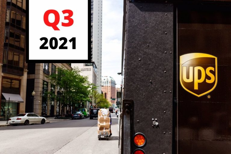 UPS Releases Q3 2021 Earnings Report