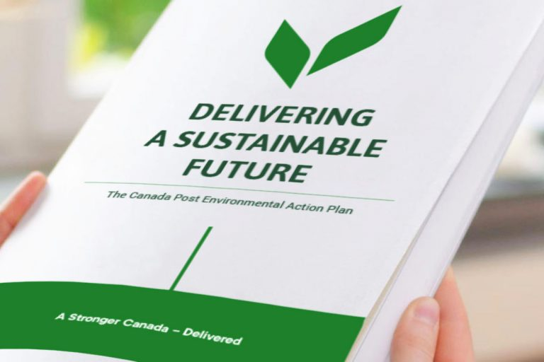 Canada Post Releases Environmental Action Plan with Goal of Net Zero Carbon Emissions by 2050