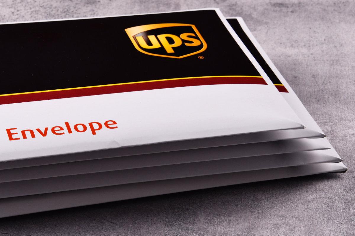 UPS Next Day Air Express Envelopes