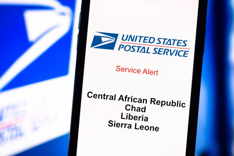 USPS Suspends Mail Services to Central African Republic, Chad, Liberia, and Sierra Leone Due to COVID-19 Outbreak
